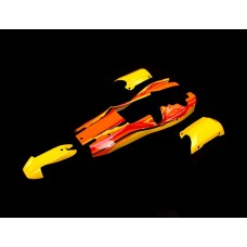 5B Body Shells - Yellow/Orange/Black