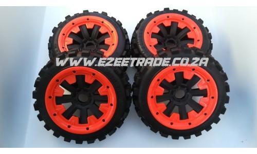 MadMax Big Digger Wheel Set 5B - 4Pcs