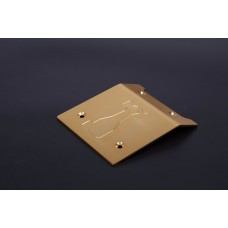 Alloy Roof Plate Gold