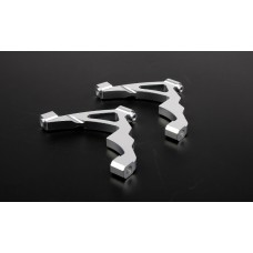 Alloy Front Shock Tower Supports - Silver