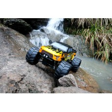 Rovan Big Monster 5 4WD BLACK WITH ORANGE FLAMES - SOLD