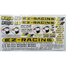 EZR Sticker Sets A5 - YELLOW