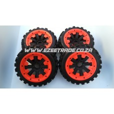Big Digger Wheel Set 5B - 4Pcs | MadMax RC
