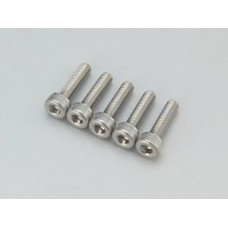 3mm Beadlock Screws Stainless - 10Pcs