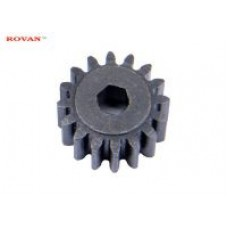 17 Tooth Drive Hexagon Pinion Gear (STRIPPED OFF NEW CAR) | Rovan Sports